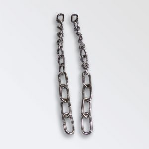 Chrome plated steel shoulder tug chains
