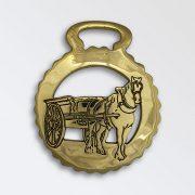 Horse in Tip Cart