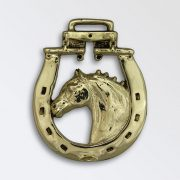 Horse Head in Horse Shoe with Whippletree