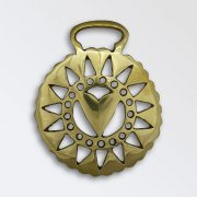 Heart with Hole and Triangle Pierced Surround