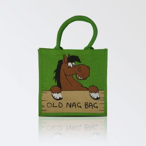 Old Nag Bag – Re usable Jute Bag green colour