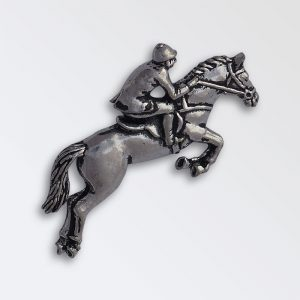 Pewter pin badge boxed - Show jumper