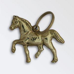 Solid brass key ring - Welsh Cob
