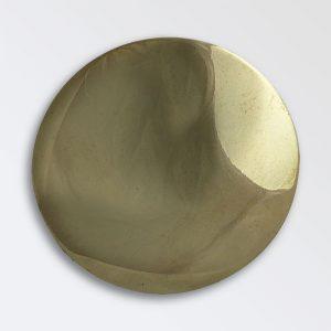 Domed Brass Rosettes
