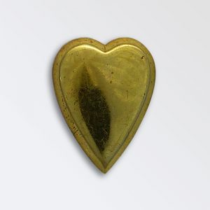 Brass Harness Decoration - Heart