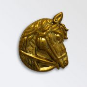 Brass Harness Decoration - Horse Head Right