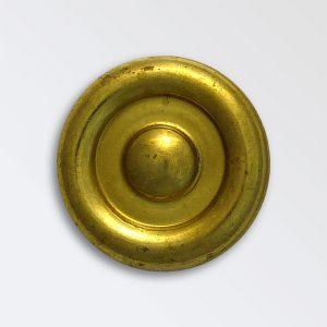 Brass Harness Decoration - Ridged