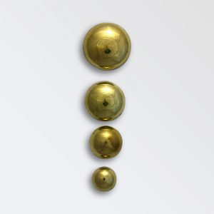 Brass Harness Decoration - Harness Knobs with Shanks