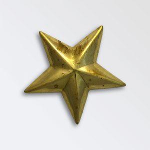 Brass Harness Decoration - Star
